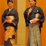 組歌について、岡村先生に説明していただきました。