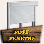 Pose fenêtre PVC + volet roulant
