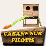 Cabane sur pilotis
