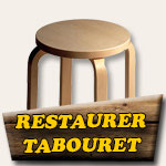 Restauration d'un tabouret