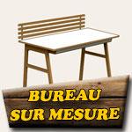 Bureau en bois sur mesure