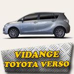 Vidange Toyota Verso essence