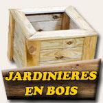Fabrication jardinières en bois