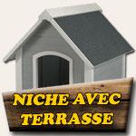Niche avec terrasse
