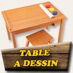 Table à dessin pour enfant