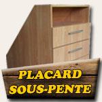 Placard sous-pente