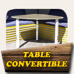 Table convertible