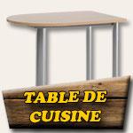 Table de cuisine