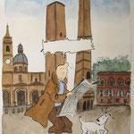 Tintín en Bolonia