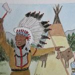 Tintín en America