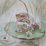 La rana de Beatrix Potter