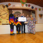 Spendenübergabe: 1111,11 Euro gehen an den Förderverein für krebskranke Kinder e.V. Freiburg