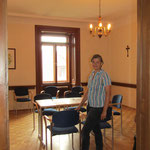 Welcome to the seminar room of the venerable castle Großrußbach.