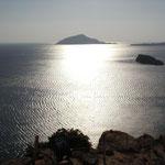 Ein Blick in die Kykladenwelt vom Cap Sonion, Traumkap