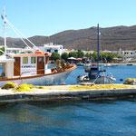 Fischermole Merichas auf Kythnos
