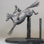 """Cedric"" 17""x20""x9"" limited edition of 15 ,bronze"