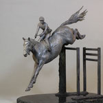 """Cedric""17""x20""x9"" limited edition of 15, bronze"