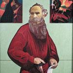 "Кувин В.И. ""Л.Толстой"". 1967-1978. 148х105."