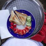 Lecker Essen, verkürzt die Wartezeit