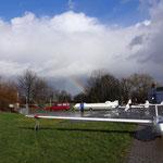 und Regenbogen.. nun ja, beim nächsten Mal wird es besser..