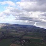 Blick nach Norden zwischen Ith und Rinteln.
