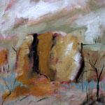 Öl auf Leinwand, 2009, 44 x 38 cm (Privatbesitz)