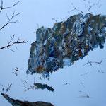 Öl auf Leinwand, 2008, 100 x 100 cm