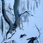 Öl auf Leinwand, 2008, 100 x 60 cm