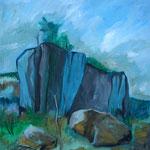 Öl auf Leinwand, 2009, 50 x 50 cm