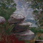 Öl auf Leinwand, 2012, 40 x 30 cm