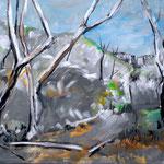 Öl auf Leinwand, 2010, 50 x 75 cm