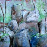 Öl auf Leinwand, 2009, 50 x 60 cm