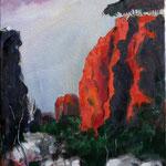Öl auf Leinwand, 2010, 40 x 30 cm (Privatbesitz)