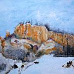 Öl auf Leinwand, 2010, 130 x 100 cm (Privatbesitz)