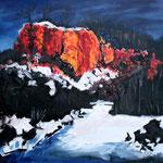 Öl auf Leinwand, 2010, 50 x 70 cm (Privatbesitz)