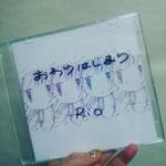 RioさんのCDのアートワークを担当させていただきました。