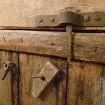 Détail de la porte de la grange
