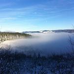 Un jour de l'an 2015 au-dessus des nuages !
