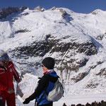 Der Aleschgletscher ist noch gross, war aber auch schon viel grösser