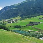 Las Vals Savognin - im Sommer mit See