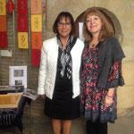 avec Mme Husson, adjointe au maire de Sedan