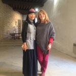 avec Xiangmei, de l'Institut des Beaux-Arts de Kunming