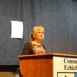 Sylvie Guggenheim la présidente du Salon