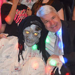 2014 - unsere Mumie mit dem Bürgermeister von Egeln