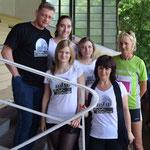 2015 - beim Womans run mit Heike Drechsler