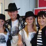 2011 - Am Flughafen mit Udo Lindenberg