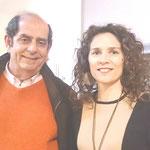 Con el Catedrático de la Univ.Murcia, Fco.J. Díez de Revenga