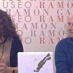Con el Escritor y Crítico de LA OPINIÓN, D.Soren Peñalver