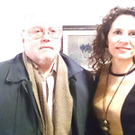 Con el Prof.Dr. de Univ.Murcia, Pedro García Montalvo