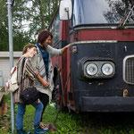 alter Bus in Stockholm